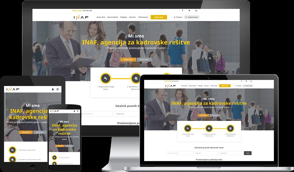 Borza Kadrov – Portal za iskanje dela