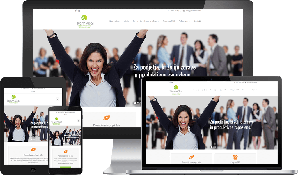 TeamVital – Promocija Zdravja Pri Delu