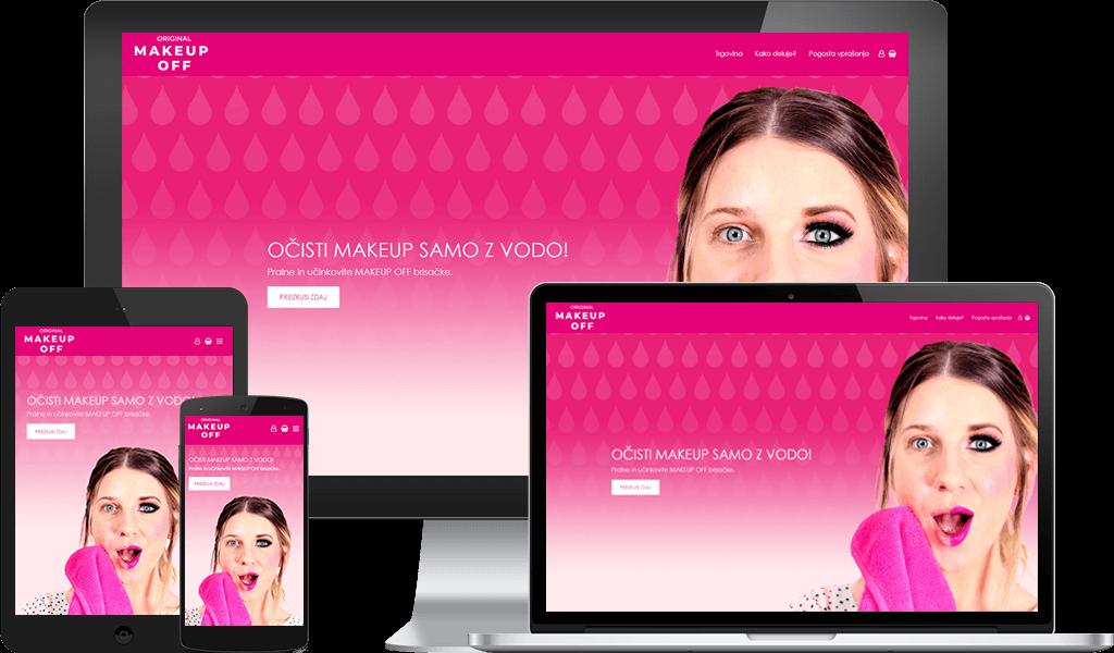 Makeup OFF – Brisačke Za Odstranjevanje Ličil