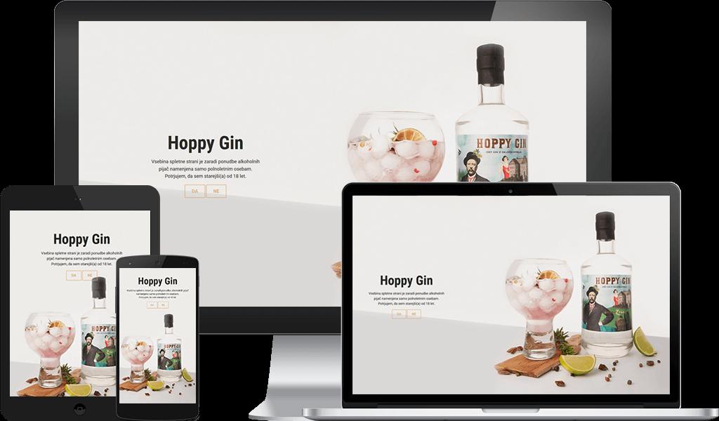 Hoppy Gin – Prvi Gin Savinjske Doline