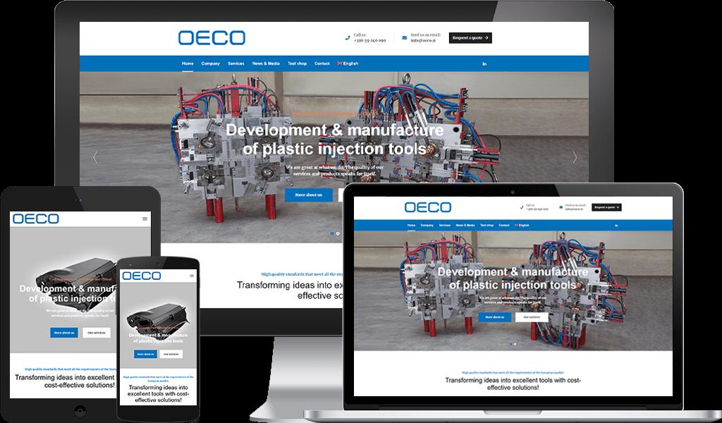 OECO - Razvoj, Proizvodnja In Vzdrževanje Orodij